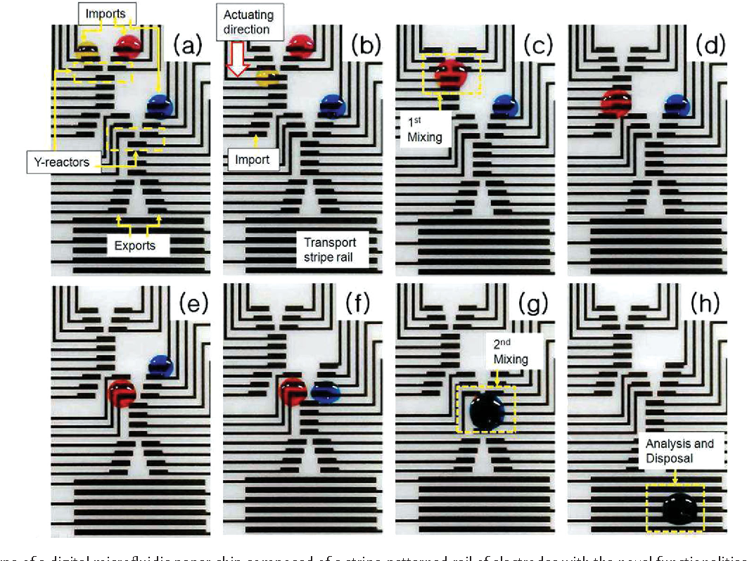 Figure 5 from Active digital microfluidic paper chips with inkjet