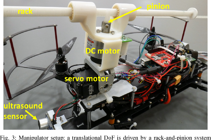 Figure 3 for Towards An Adaptive Compliant Aerial Manipulator for Contact-Based Interaction