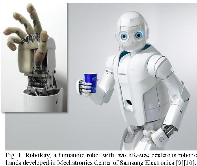 RoboRay hand: A highly backdrivable robotic hand with sensorless ...