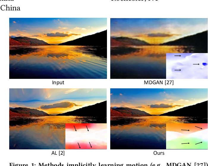Figure 1 for Learning Fine-Grained Motion Embedding for Landscape Animation