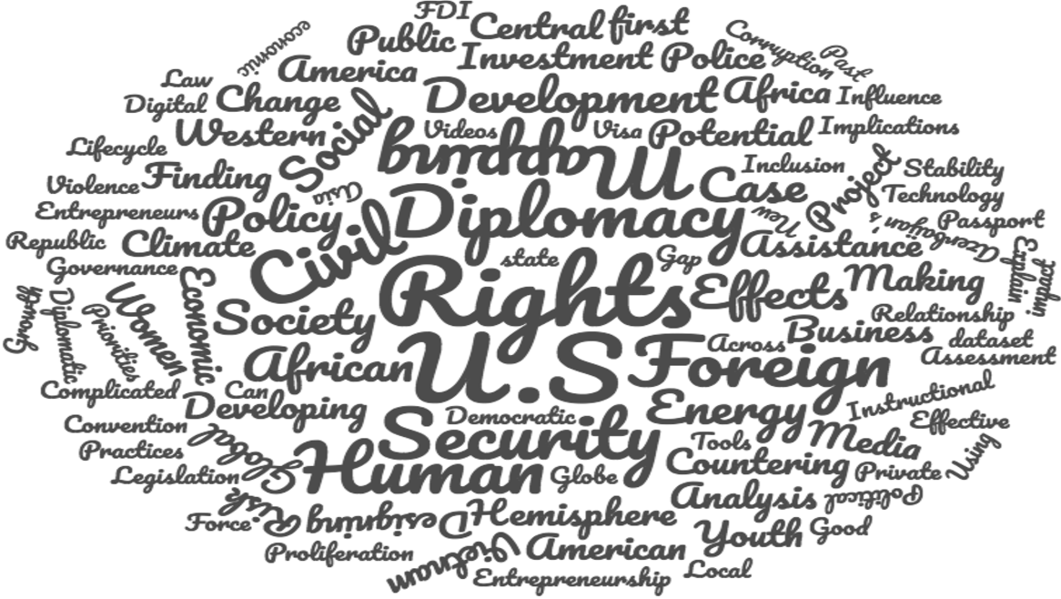 Diplomacy Lab Provides Term-Length Group Projects Integrating Policy