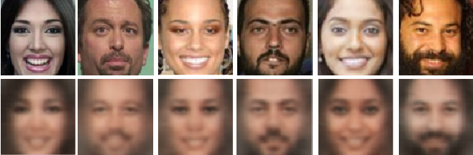 Figure 3 for Scalable Facial Image Compression with Deep Feature Reconstruction