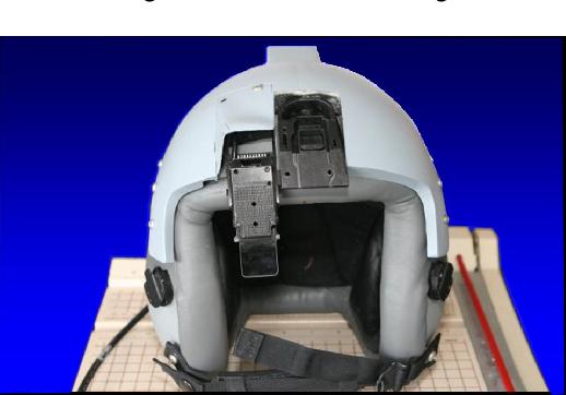 Fig. 2. Helmet front view.