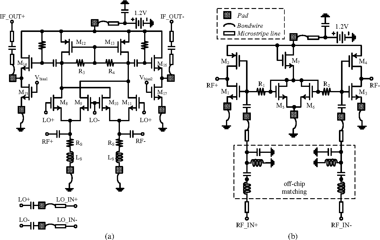 A 12 V Low Lo Power 35 Ghz Broadband Cmos Folded Switching Mixer Distortion Rf To If Mixers Figure 2