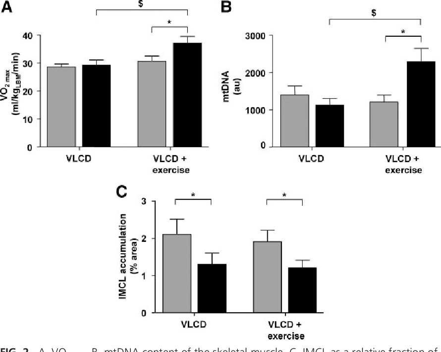 vlcd diet and exercise