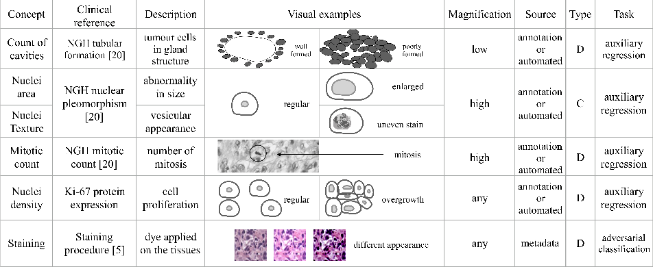 Figure 3 for Guiding CNNs towards Relevant Concepts by Multi-task and Adversarial Learning