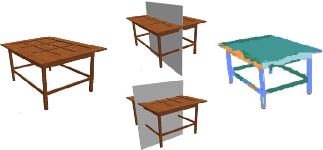 Figure 1 for Shape and Symmetry Induction for 3D Objects