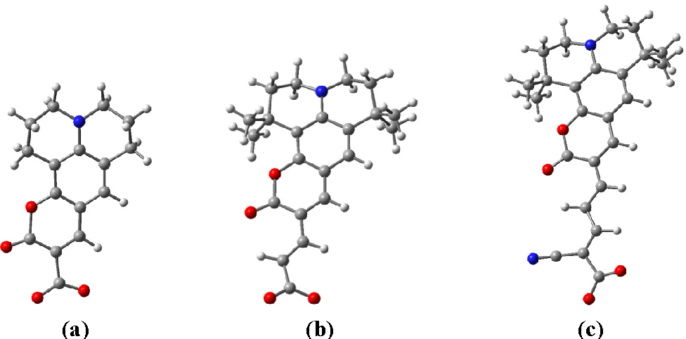 Figure 1 from Density Functional Theory (DFT) Study of Coumarin