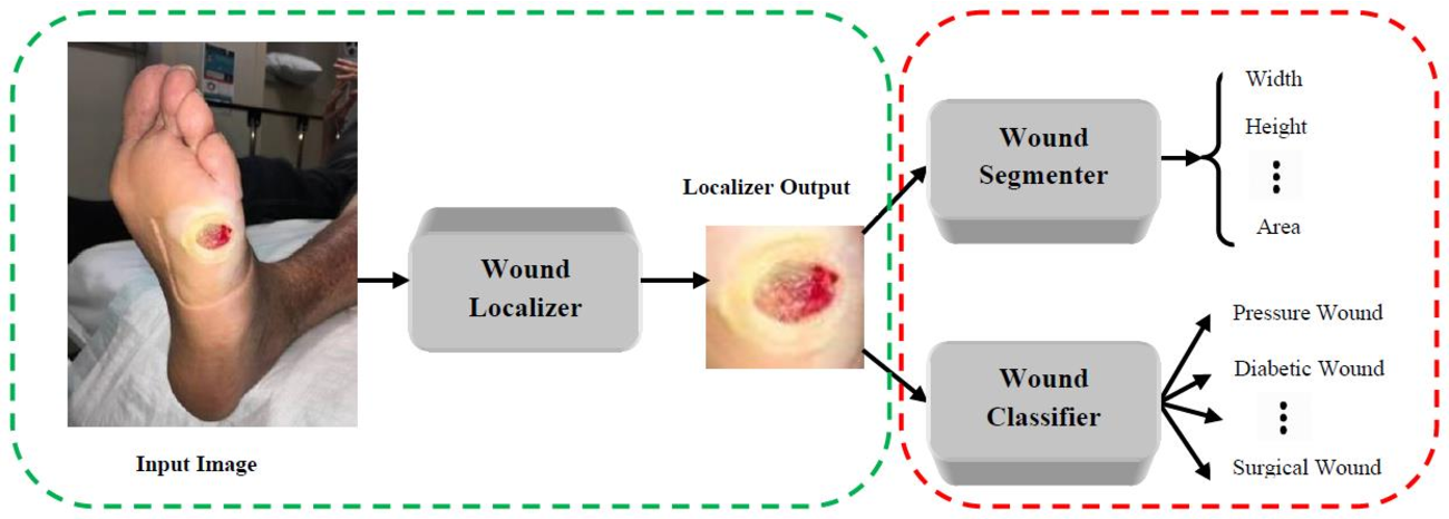 Figure 1 for A Mobile App for Wound Localization using Deep Learning