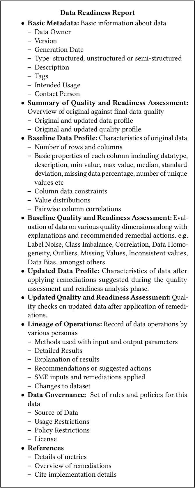 Figure 4 for Data Readiness Report