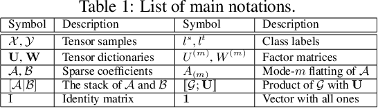 Figure 1 for Structured Discriminative Tensor Dictionary Learning for Unsupervised Domain Adaptation