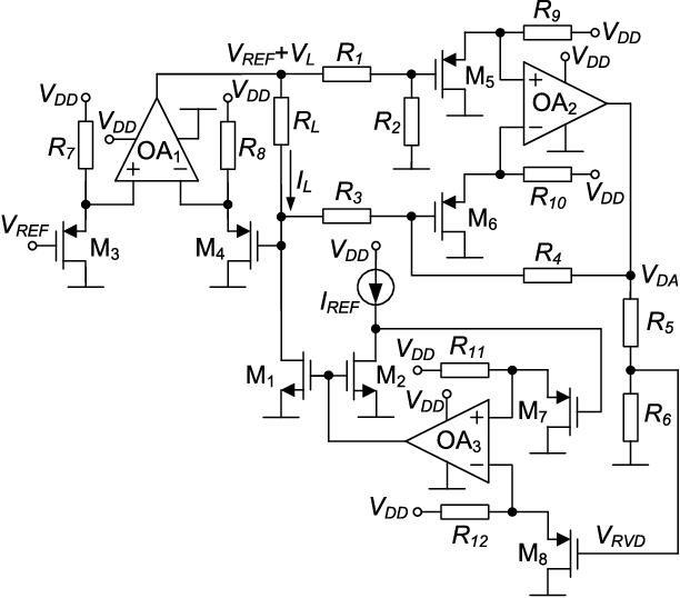 An Analog Controllable Cmos Constant Power Source For A Thermally