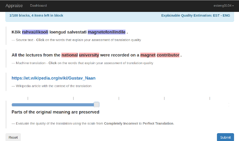 Figure 3 for The Eval4NLP Shared Task on Explainable Quality Estimation: Overview and Results