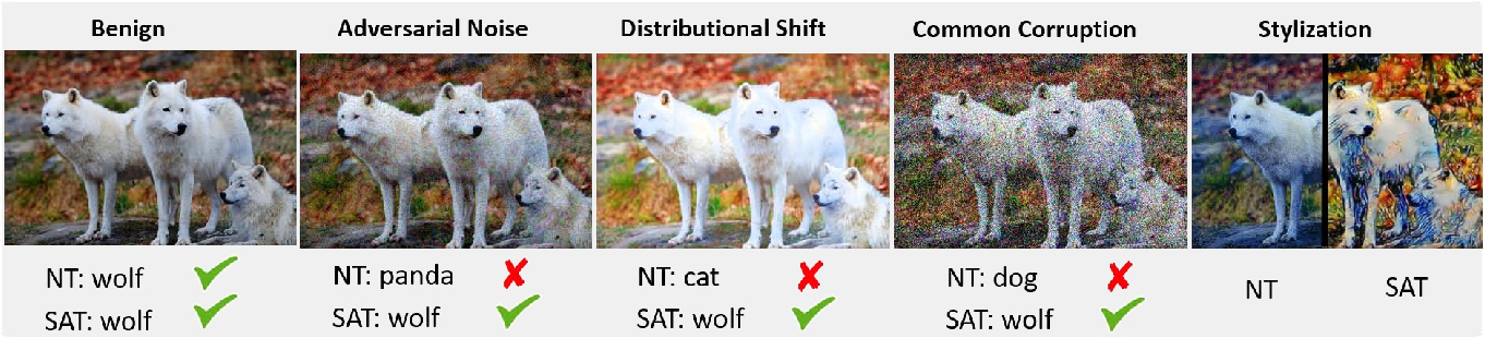 Figure 1 for Stylized Adversarial Defense