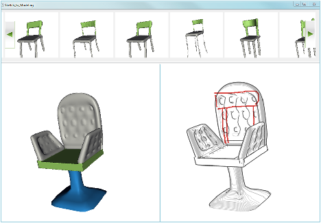 Figure 4 for Sketch-to-Design: Context-based Part Assembly