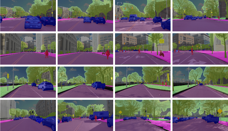Figure 1 for Value of Temporal Dynamics Information in Driving Scene Segmentation