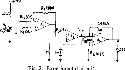 A Linear Temperaturevoltage Converter Using Thermistor In