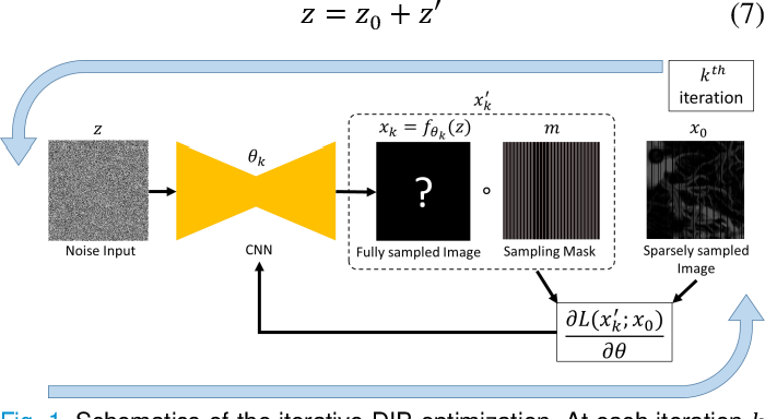Figure 1 for Deep Image Prior for Sparse-sampling Photoacoustic Microscopy