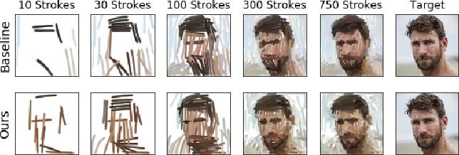 Figure 1 for Content Masked Loss: Human-Like Brush Stroke Planning in a Reinforcement Learning Painting Agent