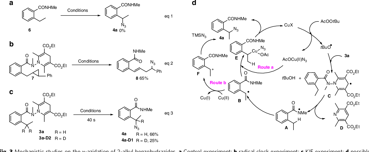 Figure 3 from Copper-catalyzed remote C(sp3)–H azidation and