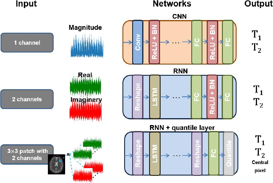 Figure 4 for RinQ Fingerprinting: Recurrence-informed Quantile Networks for Magnetic Resonance Fingerprinting