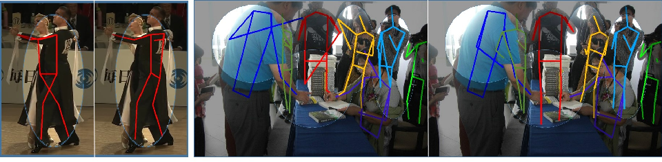 Figure 1 for Peeking into occluded joints: A novel framework for crowd pose estimation