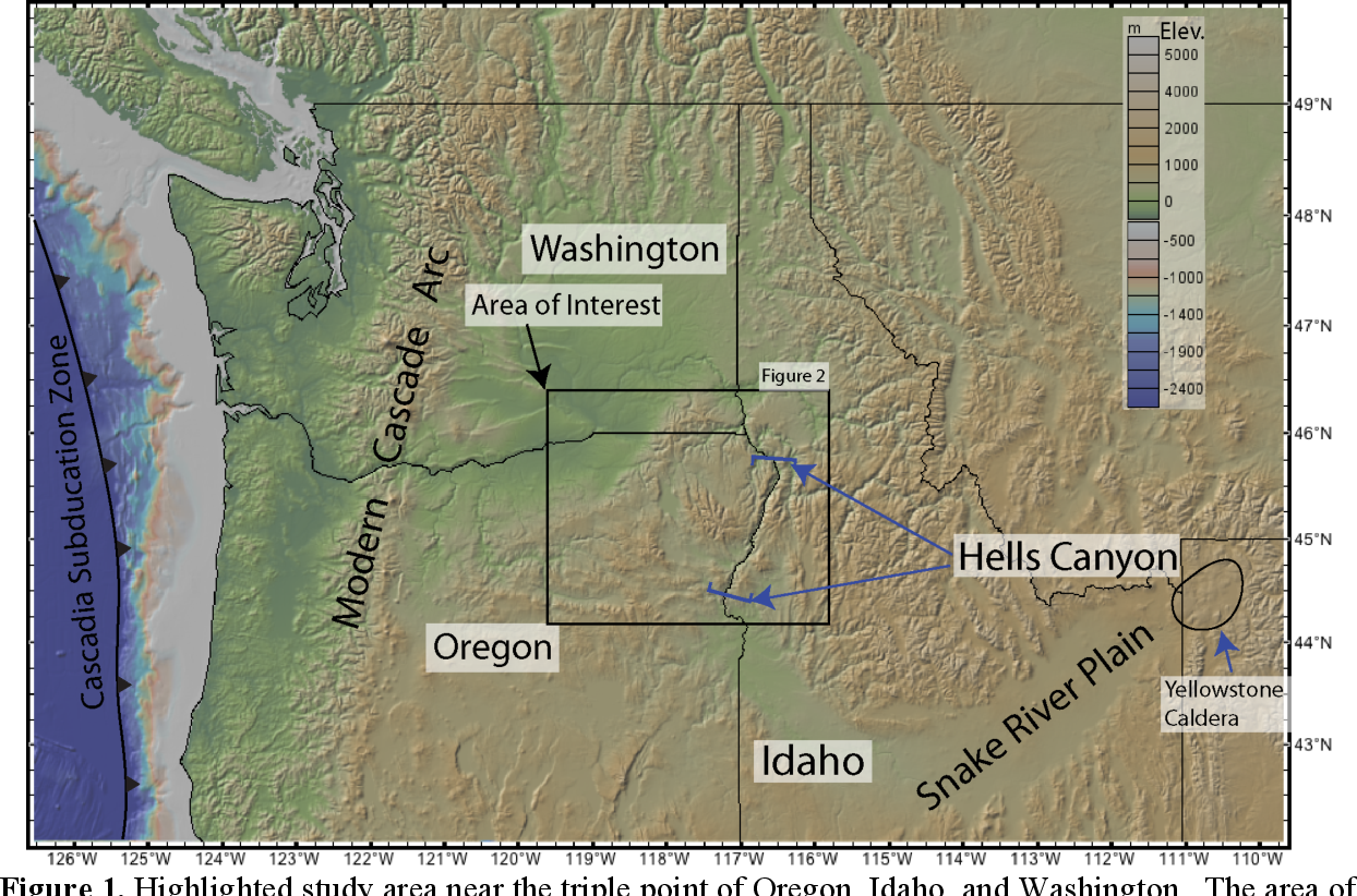 PDF] Dynamic and Tectonic Landscapes in Eastern Oregon Reveal ... on
