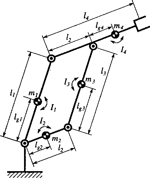 Fig. 7. Model of the robot.
