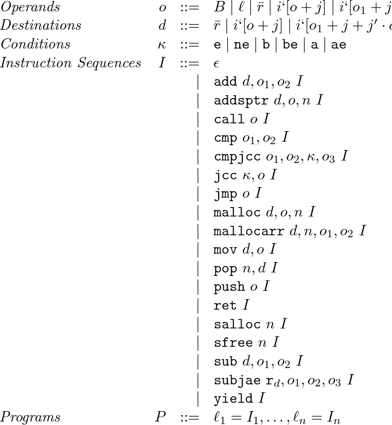 Figure 2 From Foundational Typed Assembly Language For Grid