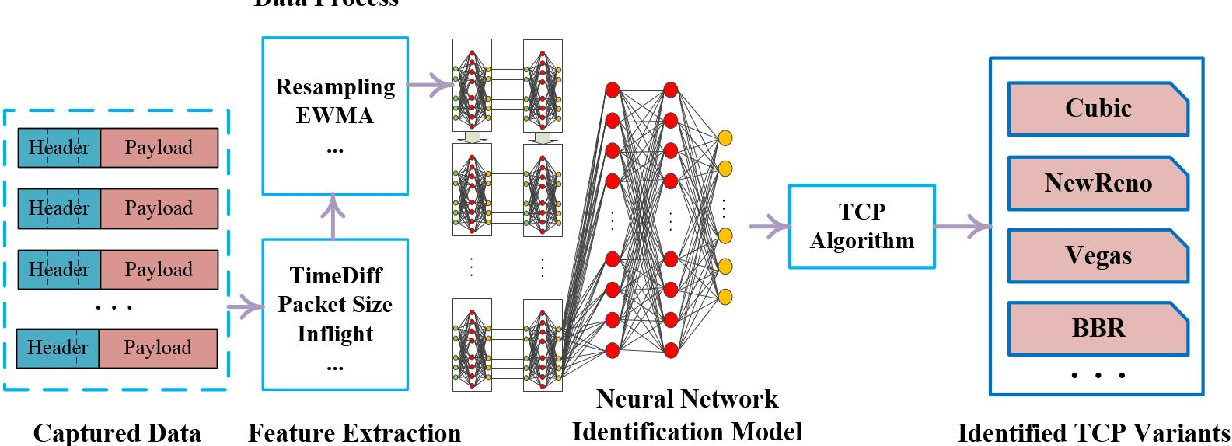 Figure 1 for Passive TCP Identification for Wired and WirelessNetworks: A Long-Short Term Memory Approach