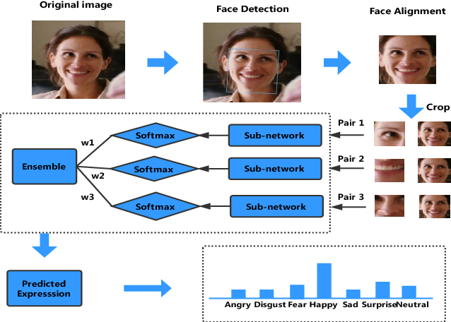 Figure 1 for Multi-Region Ensemble Convolutional Neural Network for Facial Expression Recognition