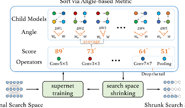 Figure 1 for Angle-based Search Space Shrinking for Neural Architecture Search