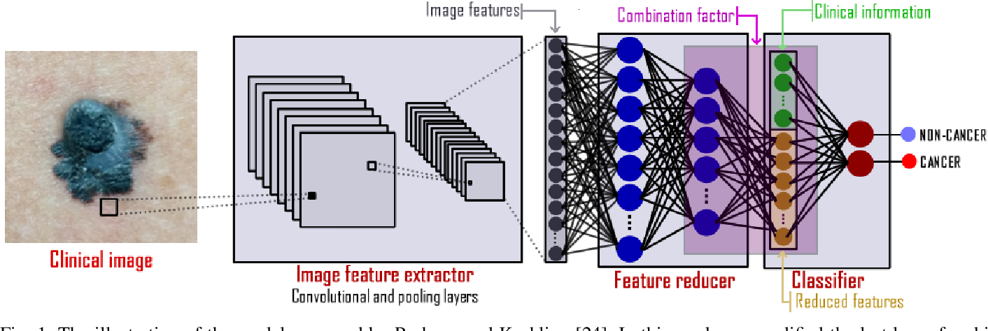 Figure 1 for A Smartphone based Application for Skin Cancer Classification Using Deep Learning with Clinical Images and Lesion Information