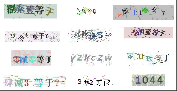 Figure 1 for An optimized system to solve text-based CAPTCHA