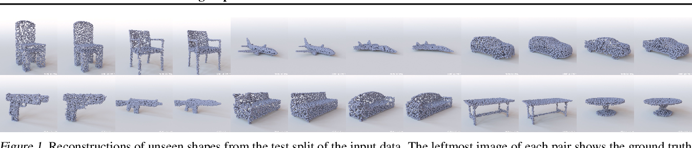 Figure 1 for Learning Representations and Generative Models for 3D Point Clouds
