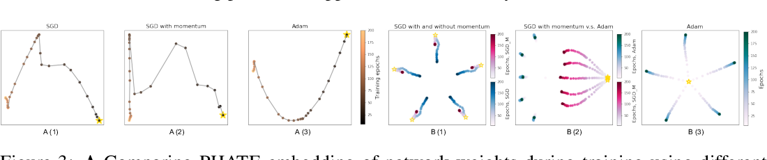 Figure 3 for Visualizing High-Dimensional Trajectories on the Loss-Landscape of ANNs