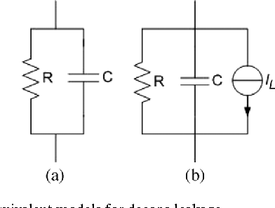 Fig. 5. Two equivalent models for decaps leakage.
