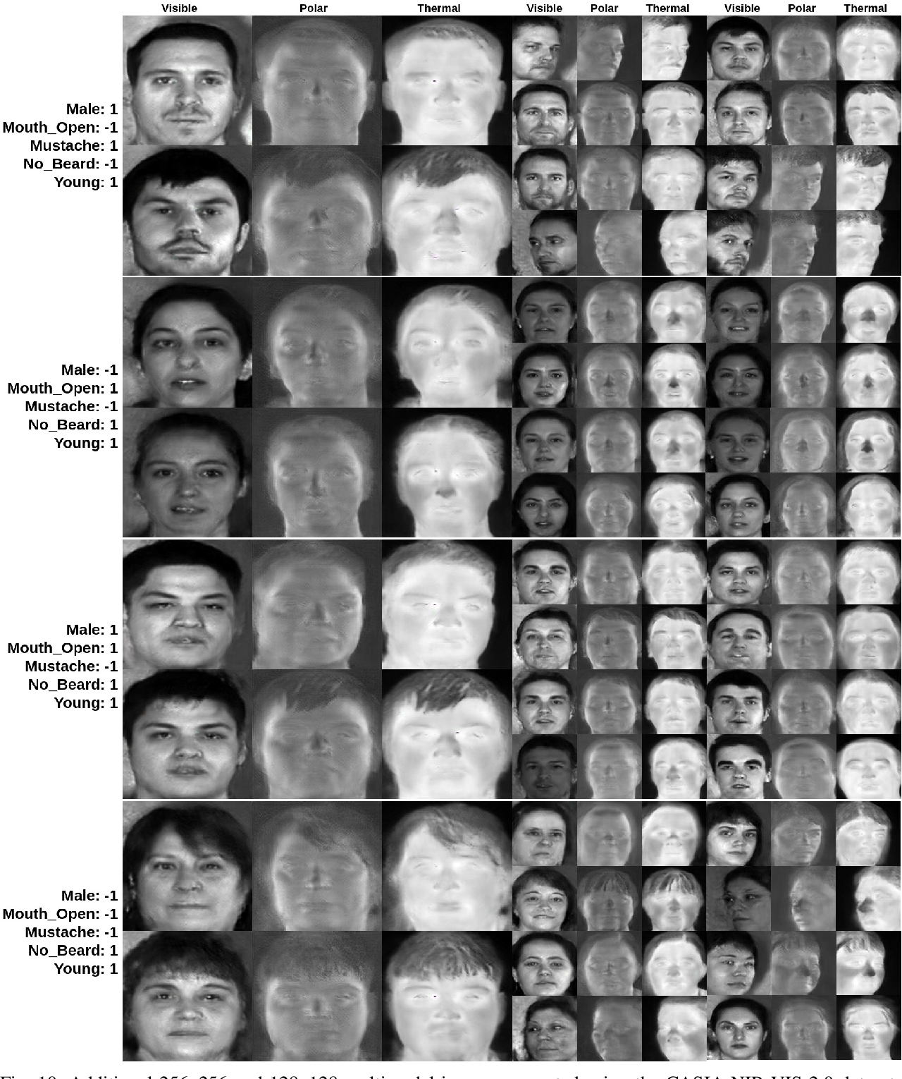 Figure 2 for Multimodal Face Synthesis from Visual Attributes