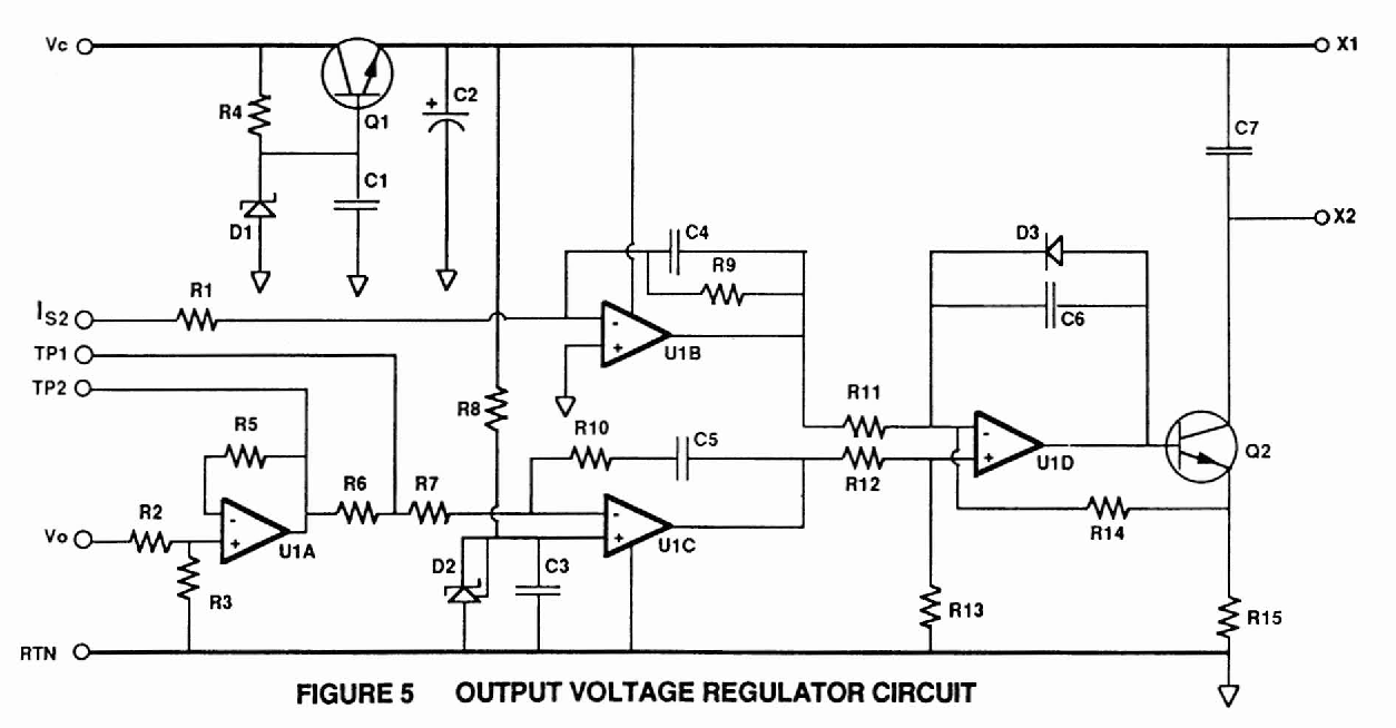 Saturable Reactor Latch Circuit Diagram Tradeoficcom Wiring Simple Continuity Tester For Pcbs Voltage Stabiliser