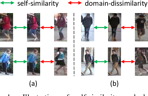 Figure 1 for Image-Image Domain Adaptation with Preserved Self-Similarity and Domain-Dissimilarity for Person Re-identification