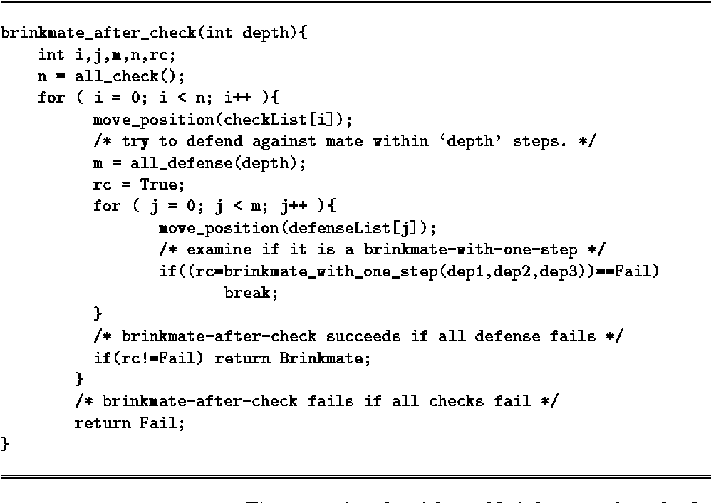 Figure 2: An algorithm of brinkmate-after-check.