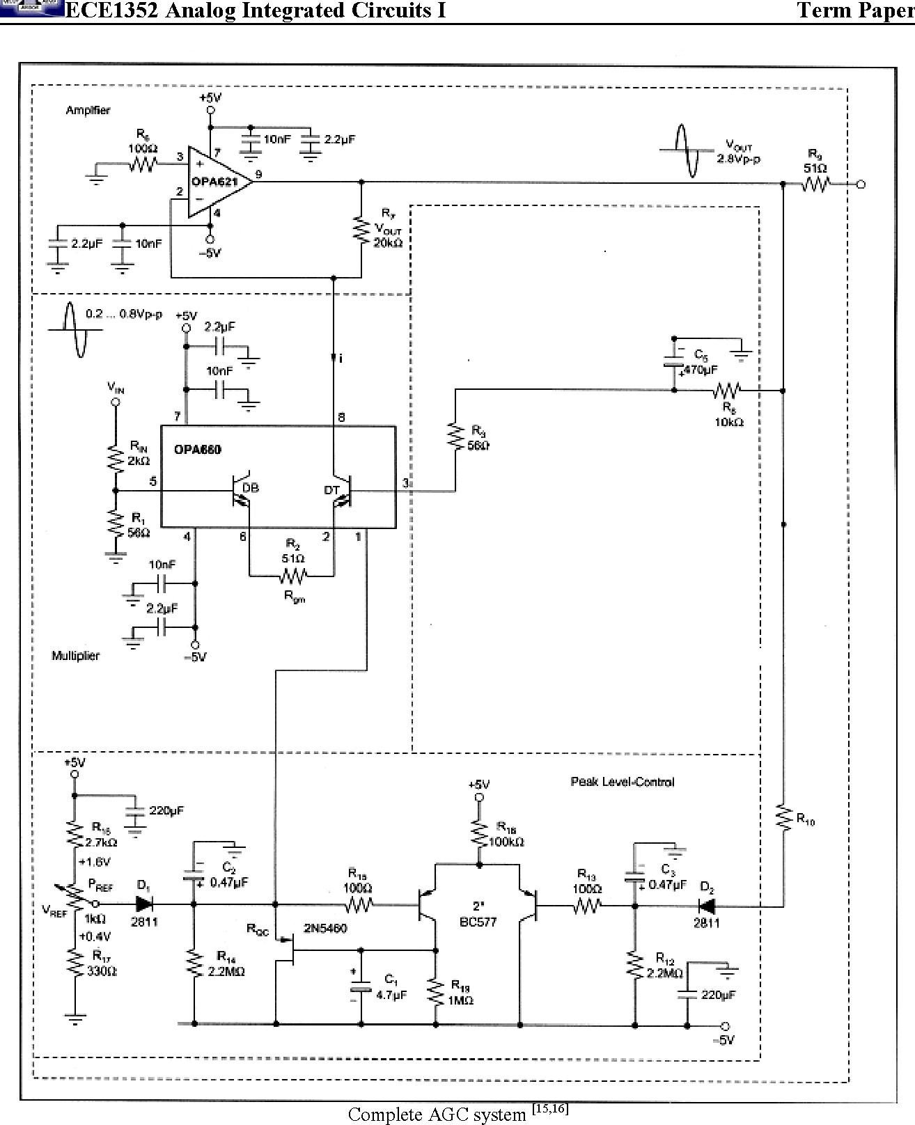 Figure 20 from Automatic Gain Control (AGC) circuits Theory
