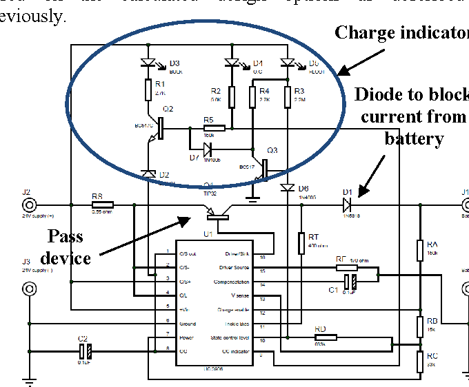 Design and implementation of three-stage battery charger for
