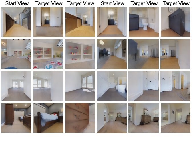 Figure 4 for Learning View and Target Invariant Visual Servoing for Navigation