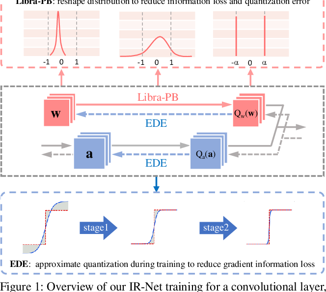 Figure 1 for IR-Net: Forward and Backward Information Retention for Highly Accurate Binary Neural Networks