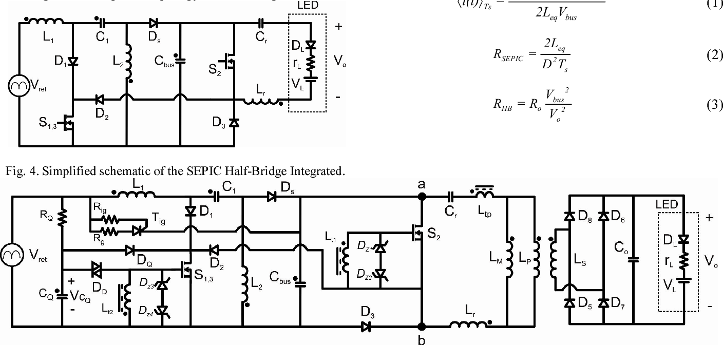 Analysis And Design Methodology Of A Self Oscillating System Based Diagram Bridge Components Bing Images On Integrated Sepic Half For Led Lightning Applications Semantic Scholar