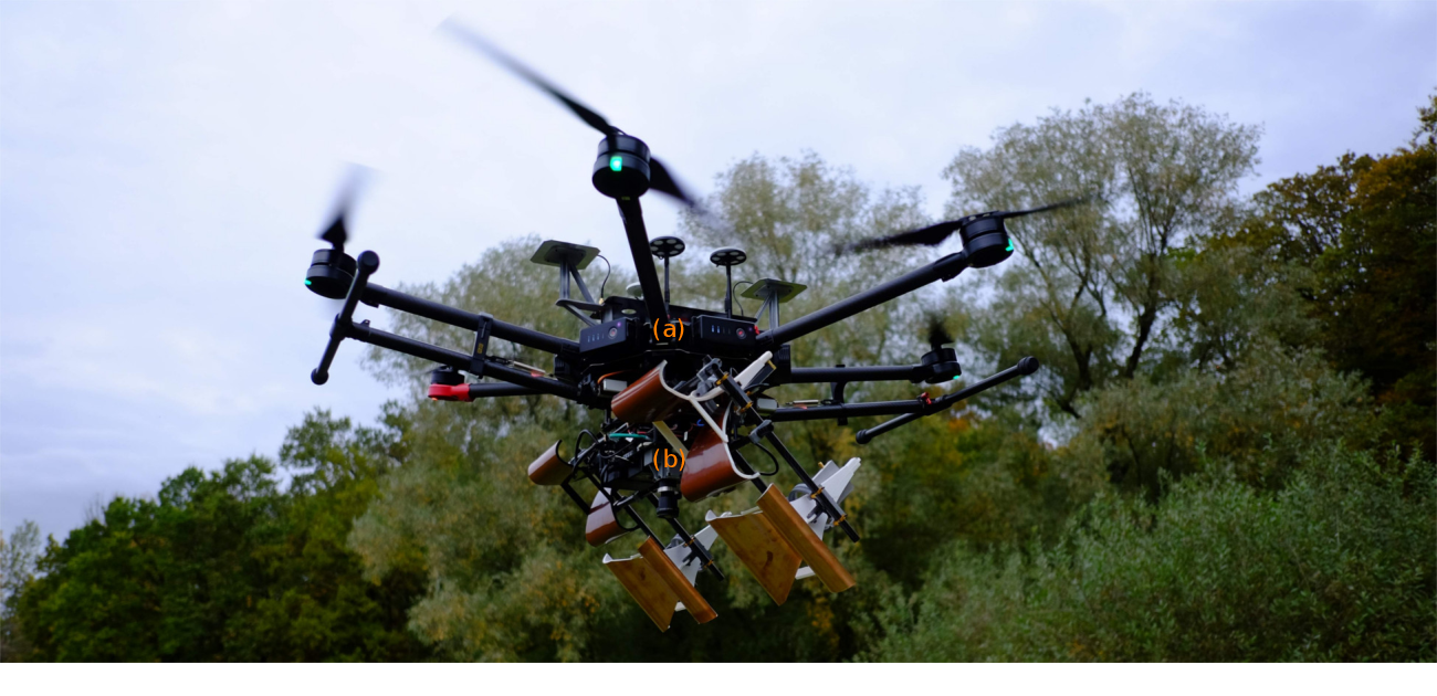 Figure 1 for Under the Sand: Navigation and Localization of a Small Unmanned Aerial Vehicle for Landmine Detection with Ground Penetrating Synthetic Aperture Radar