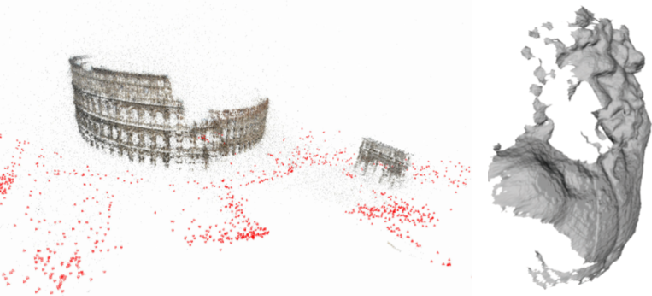 Figure 1 for High Fidelity Semantic Shape Completion for Point Clouds using Latent Optimization