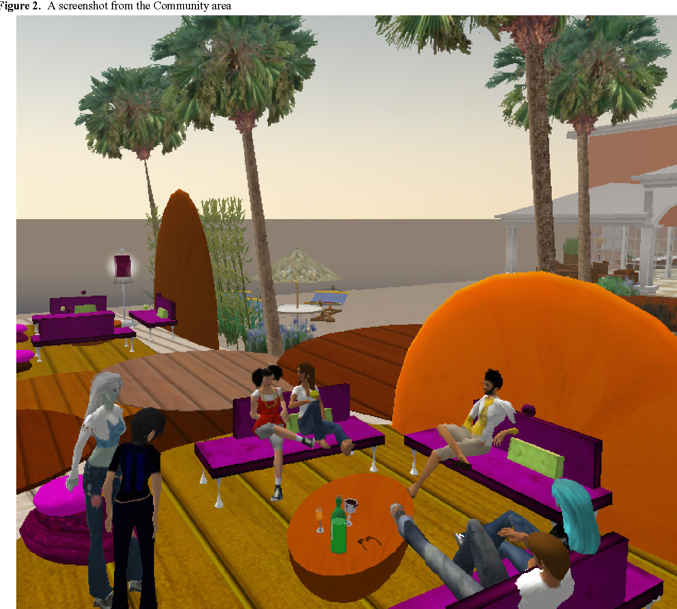 A Second Life for eHealth: Prospects for the Use of 3-D Virtual