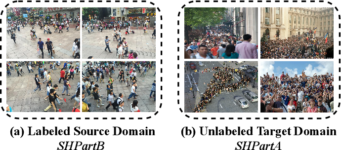 Figure 1 for Fine-grained Domain Adaptive Crowd Counting via Point-derived Segmentation